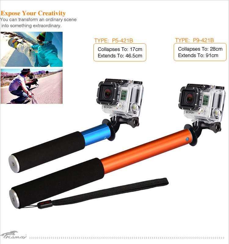 best selling selfie stick extendable bluetooth best price of selfie monopod with clip buy best. Black Bedroom Furniture Sets. Home Design Ideas