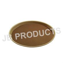 Plastic Round Non-Slip Tray, Hot Sale Tray
