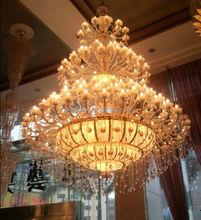 Hotel big crystal chandelier hotel lighting