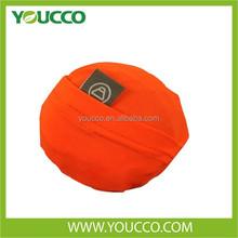 Elastic large messenger bag folding ball shaped shoulder shopping bags