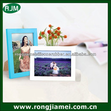 2014 simple European style soft PVC photo frames for pictures wholesale