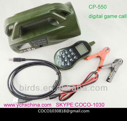 CP-550 electronic bird caller; duck hunting decoy; bird sounds mp3 download