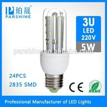 Energy saving and good profit SMD2538 led Bulb 24PCS 5w E27 B22 220v light bulb