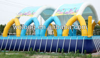 Hot Selling inflatable water ball roller water game swimming pool inflatable water pool on sale!!!