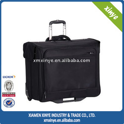 Black mini laptop trolley bag,trolley laptop bag luggage trolley bag