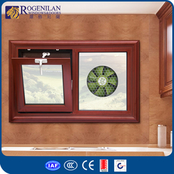 Rogenilan toilet design aluminum awning glass window covering