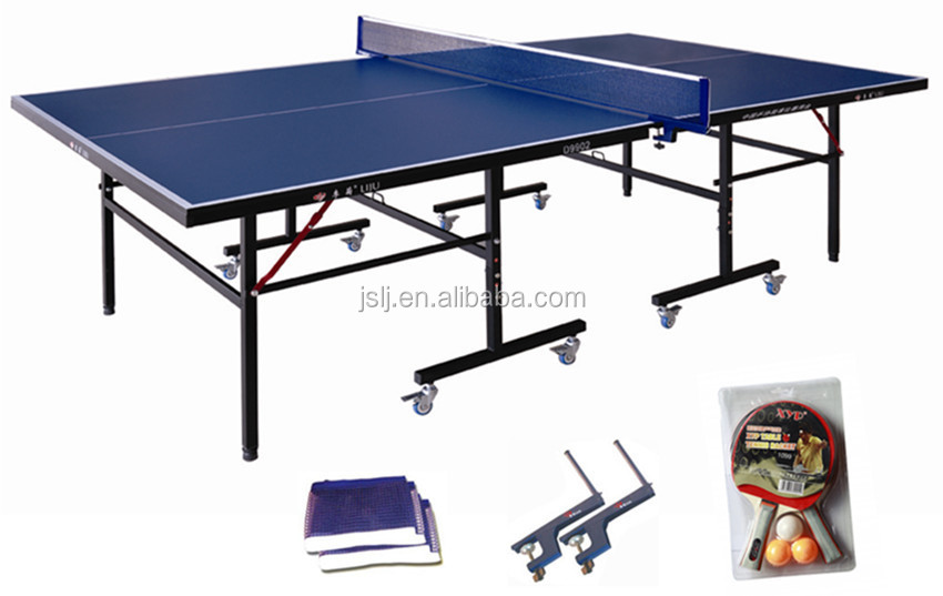 Wholesale 16mm table tennis table used ping pong table - Folding table tennis tables for sale ...