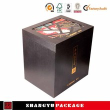 printed wine bottle shipping boxes wholesale