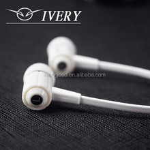 winder high ivery telephone earphone stand necklace with volume control remax earphone with stereo 14mm driver earphone
