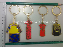 New Brand Reflective Exquisite Cheongsam Key Chain key ring key fob with Different size