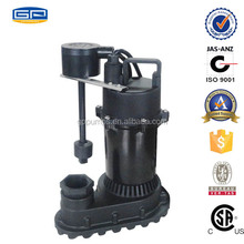 Thermoplastic Sump Pumps with CSA certification - self priming sewage pump