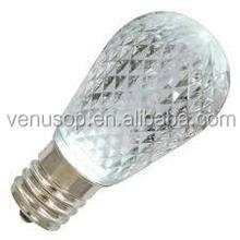 Decorative Colorful S14 LED Christmas bulb CE&RoHs LED s14 bulb string lighting