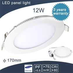 good quality and best price round solar panel products livarno lux led 3 year warranty led lamp