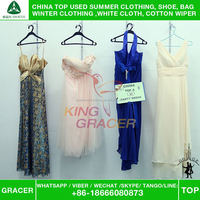 Australia Supplier Second Hand Modern Event Dress used clothing from karachi