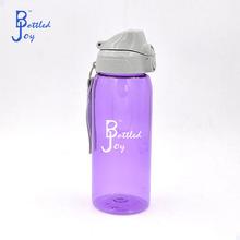 Color púrpura reciclado botellas de agua, botella de consumición plástica reciclado fabricante