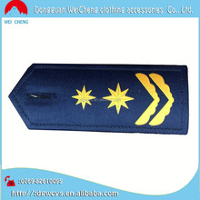 Hot wholesale military&police&army uniform embroidered epaulette