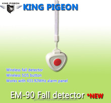 EM-90 Wireless fall down emergency button SOS panic button 2015 new products big keyboard elderly care products
