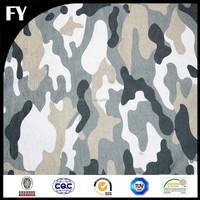 Custom high quality digital printing burnout silk velvet fabric