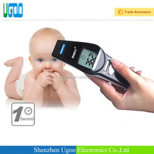 New style blue color backlight digital non contact forehead infrared thermometer