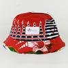 stylish fishing bucket hats/plain print bucket hat wholesale