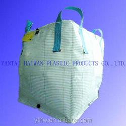 100% raw material 1000kg bulk bag/ 1 ton rice bag/pp jumbo bag