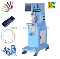 1-Color ink well pad printing machine for keyboard, mouse, toies, pens, Cosmetics package box, hardware LC-PM1-100