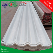 high strength glazed MGO anti-corosion insulated fireproof roofing sheet , white roof coating SSHH01