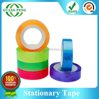Easily Tearing Colorful Bopp Adhesive Cleaning Tape