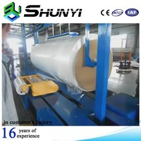 Hot wrapper roll wrap bucket packing machine
