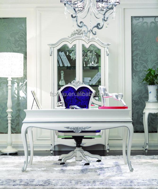 schreibtisch und stuhl luxus design m bel arbeitszimmer. Black Bedroom Furniture Sets. Home Design Ideas