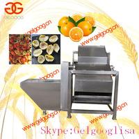 Orange half cutting and juice extracting / making machine | Orange half cutting and juicer / juice extractor