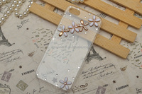 Wholesale design your own rhinestone cell phone cases for iphone 6