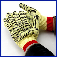 2015 China manufacturer dots cotton knitted Safety Latex Coated Labour Protection Glove