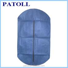 Promotional foldable custom non woven suit custom printed wedding dress garment bags