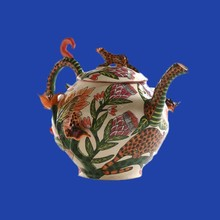 New Product Handmade Panther Chinese Tea Pot