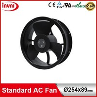 Standard SUNON Alveolate Motor 254mm 254x89 Exhaust AC High CFM Round Fan 220V 230V 240V 254x254x89 mm (A2259-HBT TC.N.GN)