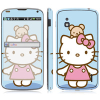 Cartoon Kitty Vinyl Screen Protector For LG Series, for E960 sticker.
