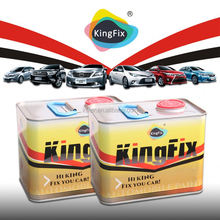 KINGFIX Brand Strong resilience performance paint for painting cars