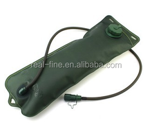 3L Green TPU Bicycle Mouth Water Bag,Water Bladder Bag Hydration Camping Hiking Climbing
