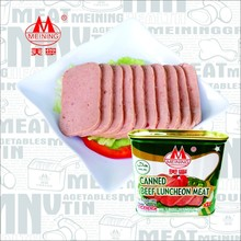198g and 340g canned beef luncheon meat