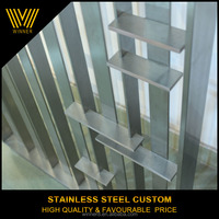 Factory custom high end metal indoor hospital room divider