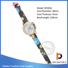 Wholesale Waterproof Watch ,nice looking watch, Leather Lady Watch