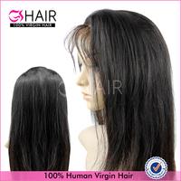 human hair half wigs 100% human hair wigs high quality virgin hair wigs