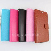 for Micromax A1 wallet case,leather magnetic flip case cover for Micromax A1