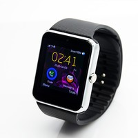 LEDO Wholesale 1.54 Inch Touch screen LCD/LED bluetooth gt08 smart watch 2015 Latest Model