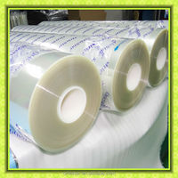 3H hardness 125 micron 4-layer film roll material especially for mobile phone screen protector