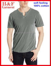 100% cotton fashion Mens T shirt with various colors