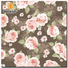 Custom-made Printed Digital Print Silk Fabric