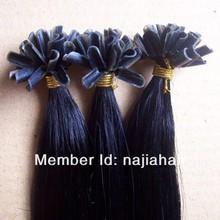 100% virgen pre servidumbre u punta del pelo