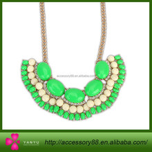 Europe and the United States wholesale fashion jewelry, fashion cute multicolor sector sweet Necklace
